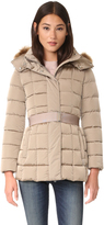 ADD Down Jacket with Faux Fur
