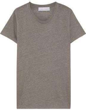 IRO Luciana Slub Linen-jersey T-shirt
