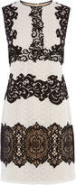 Karen Millen Cream Vintage Lace Mini Dress