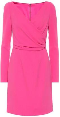 Dolce & Gabbana Crepe wrap dress