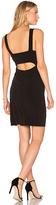 Velvet by Graham & Spencer Rosemary Bodycon Dress in Black. - size M (also in )