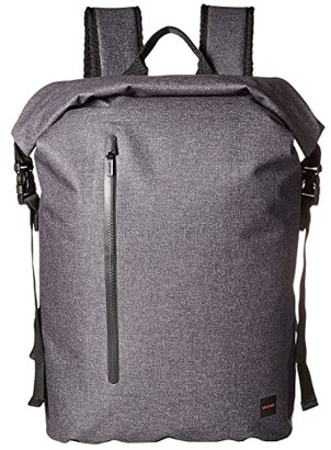 Knomo London Thames Cromwell Top Zip Backpack (Grey) Backpack Bags
