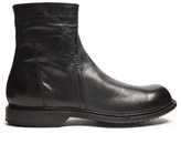 Rick Owens Creased-leather Ankle Boots