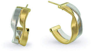 Marco Bicego Marrakech Supreme Two-Strand Hoop Earrings