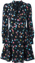 Marc Jacobs licorice print dress - women - Silk - 2