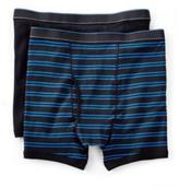 Haggar Men's 2-Pack Striped Boxer Briefs