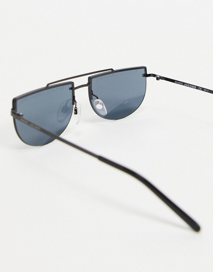 Thumbnail for your product : Marc Jacobs 404/S crescent lens sunglasses