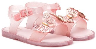 Mini Melissa Butterfly-Embellished Sandals