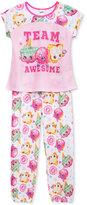 2-Pc. Shopkins Team Awesome Pajama Set, Little Girls (2T-6X) & Big Girls (7-16)