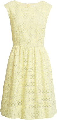 1901 Cotton Eyelet Dress