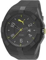 Puma Men's PU103501002 Iconic Black Wrist Watches