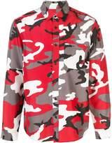 Supreme Silk Camo Shirt