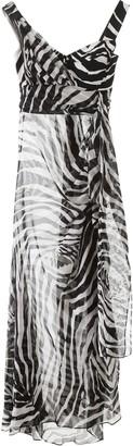 Dolce & Gabbana Zebra Print Chiffon Dress
