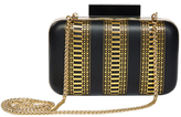 Alice + Olivia Shirley Laser Cut Large Clutch