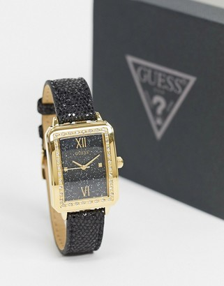 GUESS watch with square dial