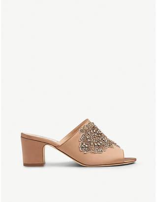 LK Bennett Sabrina crystal-embellished woven sandals