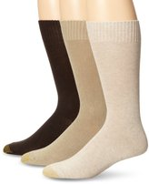 Gold Toe Men's Nassau Crew 3 Pack