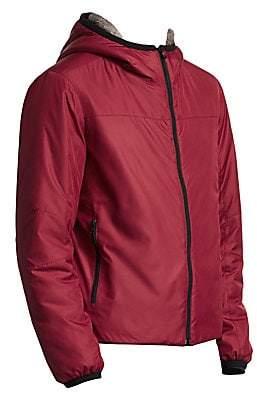 Saks Fifth Avenue BY ESEMPLARE Eco Fur-Lined Short Jacket