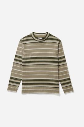 Saturdays NYC Sean Stripe Longsleeve T-Shirt