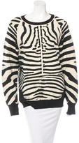 A.L.C. Zebra-Patterned Pullover Sweater w/ Tags
