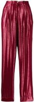 Forte Forte geometric print straight trousers