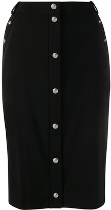 Boutique Moschino High-Waisted Midi Skirt
