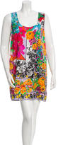 Versace Silk Floral Dress