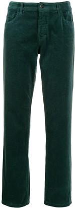 Emporio Armani straight cut trousers