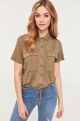 Ardene Short-Sleeved Cargo Shirt