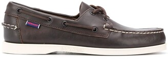 Sebago Lace-Detail Boat Shoes