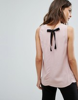 New Look Tie Back Shell Top