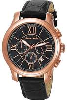 Pierre Cardin men's Quartz Watch Chronograph Display and Leather Strap PC105161S07