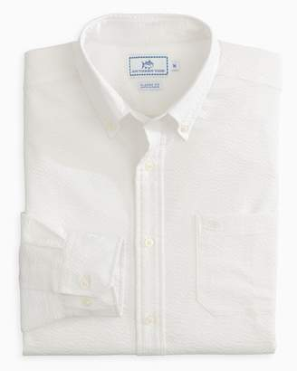 Southern Tide Seagrove Seersucker Button Down Shirt