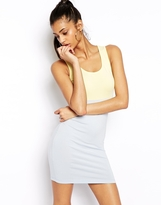 Asos Body-Conscious Dress in Color Block