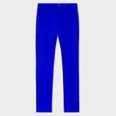 Paul Smith Men's Slim-Fit Indigo Stretch-Cotton Chinos