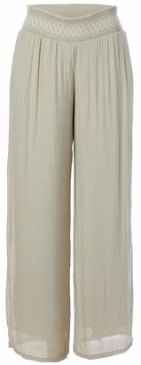 Amy Byer Women's Wide Leg Gauzy Pants
