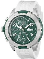 Lacoste Men's 2010758 Tonga Analog Display Japanese Quartz White Watch