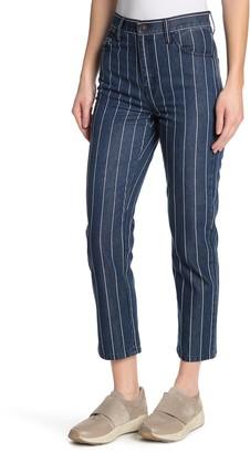 Current/Elliott The Vintage Cropped Straight Leg Jeans