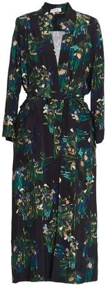 AILANTO Black Lilies Coat