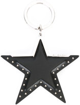Givenchy star charm keyring - women - Calf Leather/metal - One Size