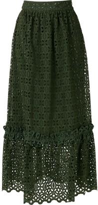 Nk Lace Long Skirt