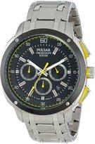 Pulsar Men's PT3393 Analog Display Japanese Quartz Silver Watch