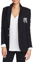 Polo Ralph Lauren Shoulder Pad Custom-Fit Blazer
