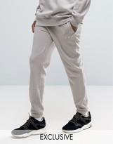 Puma Logo Joggers In Gray Exclusive To ASOS 57533101