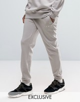 Puma Logo Joggers In Grey Exclusive To Asos 57533101