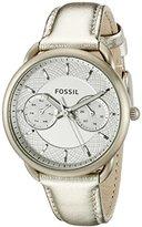 Fossil Women's ES3912 Analog Display Analog Quartz Gold Watch