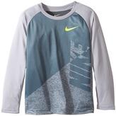 Nike Splice Heather Dri-Fit Tee (Little Kids)