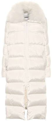 Yves Salomon Army shearling-trimmed down coat