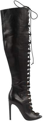 Giambattista Valli Black Leather Boots