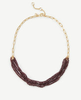 Ann Taylor Multi Strand Bead Necklace